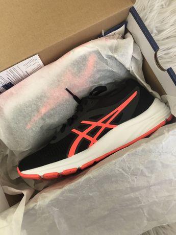 Asics gel-pulse 12 black/flash coral 38 women kobiety buty do biegania