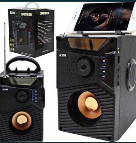 Nowy głośnik bezprzewodowy BLUETOOTH RADIO MICRO SD FM  lombard