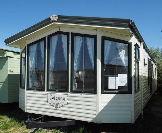 Całoroczny domek holenderski angielski WILLERBY ASPEN L932 Camplas