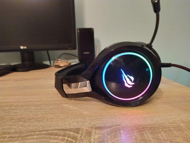 Słuchawki gamingowe z podświetleniem