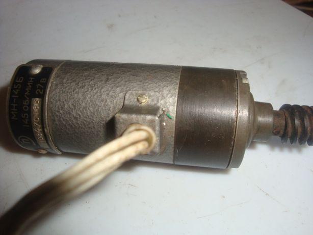 електродвигун електродвигатель - редуктор 27 вольт