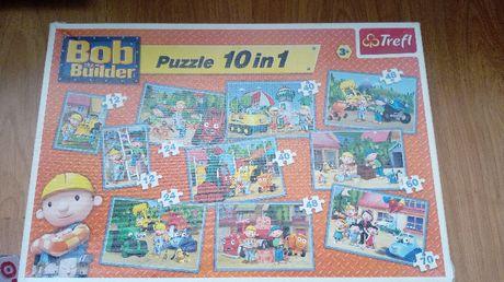 puzzle bob budowniczy 10w1
