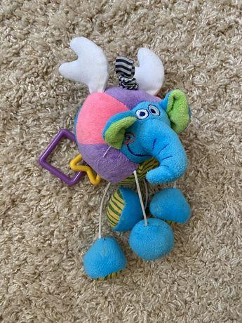 Развивающая игрушка, игрушка на коляску слон