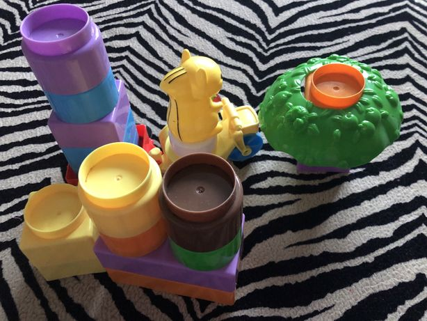 Блочный конструктор для малышей