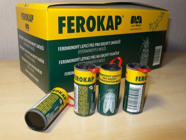 Липкая лента (липучка) от моли FEROKAP Ферокап (Чехия)
