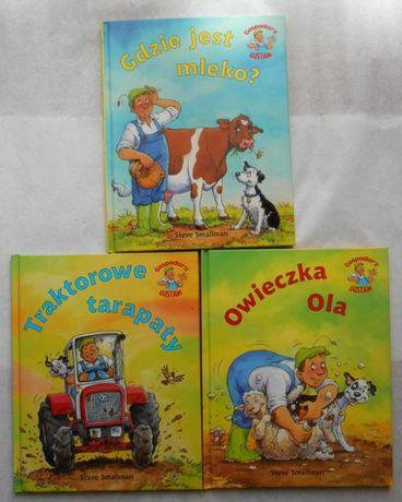 Traktorowe tarapaty Owieczka Ola Gdzie jest mleko Steve Smallman