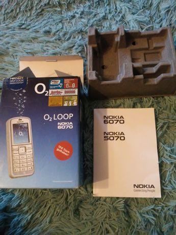 Opakowanie od Nokia 6070 plus instrukcja obsługi
