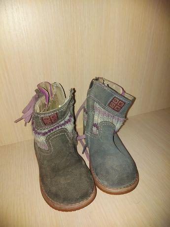 Дівчачі чобітки осінні