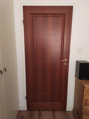 Drzwi wewnętrzne z drewna pełne wysoka jakość!