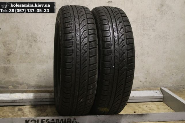 165/70 R14 Dunlop, 6,2 мм, 2 шт, шины зима (155/175/65/75)