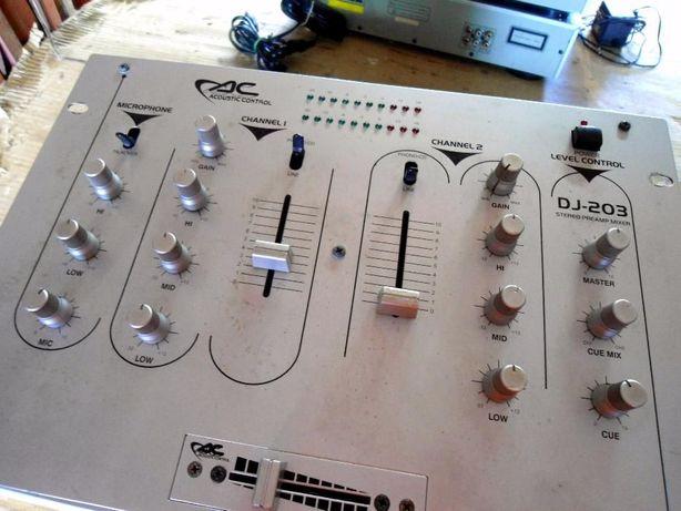 Mesa de Som Acoustic Control