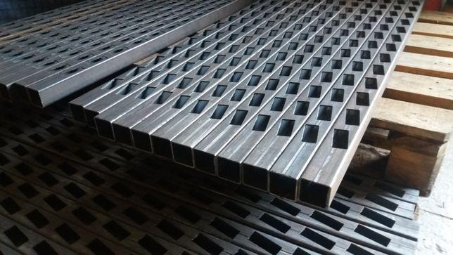 Cięcie wypalanie plazmą CNC profili do bram ogrodzeń paneli żaluzji