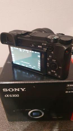 Sony a6300 jak nowy