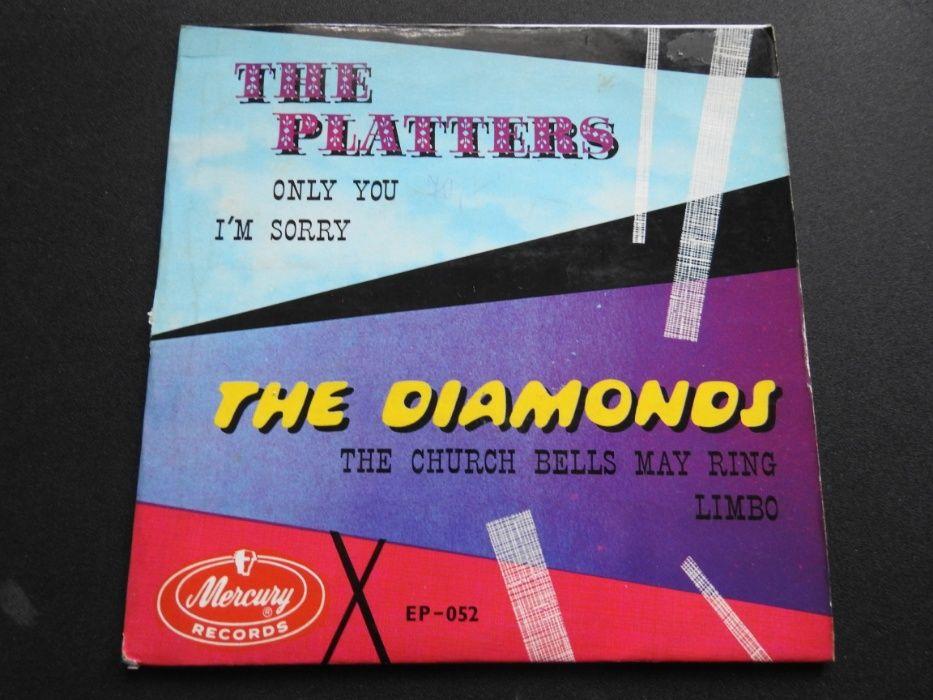 Płyta winylowa The Diamonds The Platters Racibórz - image 1