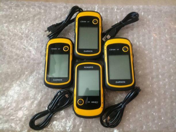 Garmin eTrex 10 GPS/GLONASS/подсчет площади