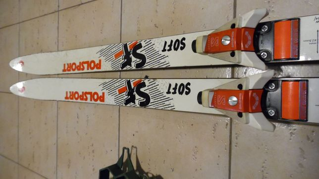 Narty Polsport Swing Soft 185cm + Salomon 747 historyczne ale super