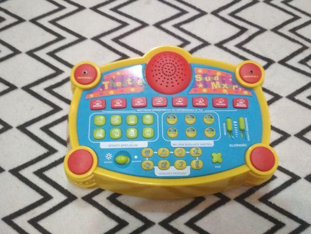 Tetrzyk Teatr Sound Mixer dźwięki zabawka interaktywna podklady muzyka