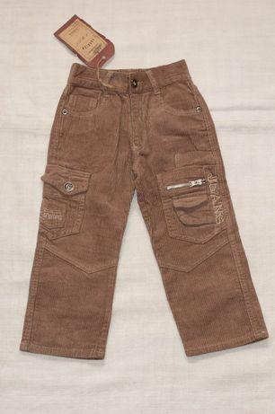 Штаны зимние, штани зимові, вельветовые брюки на мальчика 122 р.