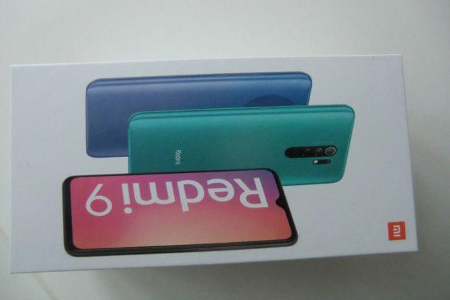 Smartfon REDMI 9 $/64 GB Carbon Grey