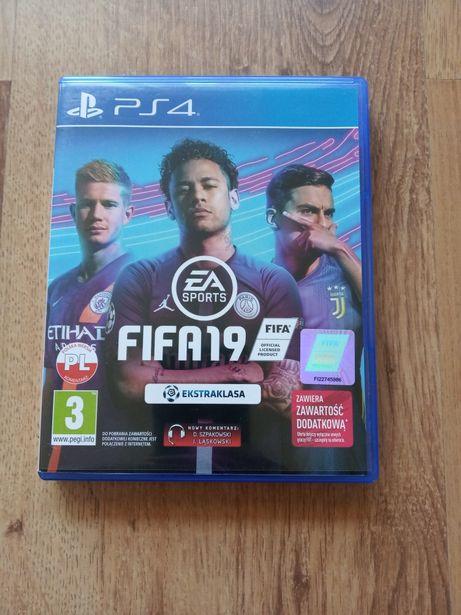 FIFA 19 PS4 wersja PL
