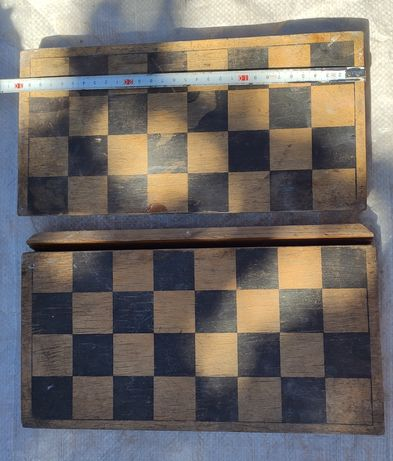 Шахматная доска СССР под реставрацию, старая