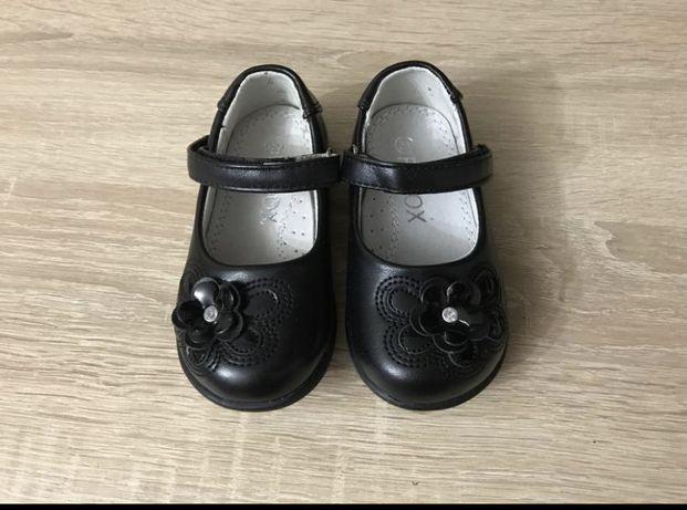 Кожаные туфли 20-21 размер
