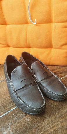 Чоловічі шкіряні туфлі Emanuele Monti (Оригінал Італія) 40p.