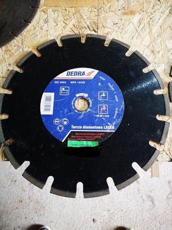 NOWA Tarcza diamentowa laser asfalt DEDRA 300 mm