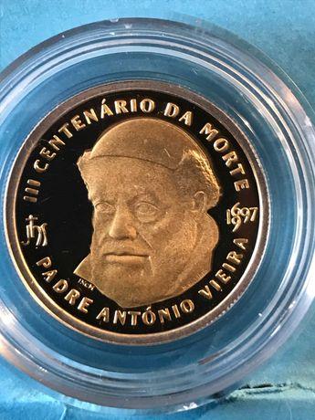 """Vendo moeda bimetálica de 500 escudos """"Padre António Vieira"""""""
