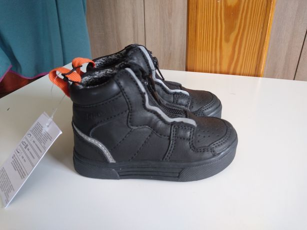 Półbuty Reserved r.21 Sneakersy Trzewiki chłopięce