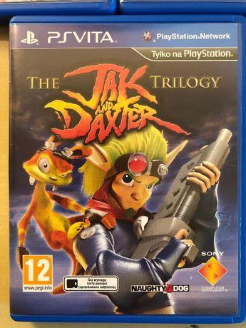 The Jak and Daxter Trilogy Gra PSVita i inne gry akcesoria PS Vita.