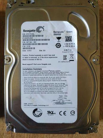 жесткий диск seagate 2000gb на запчасти
