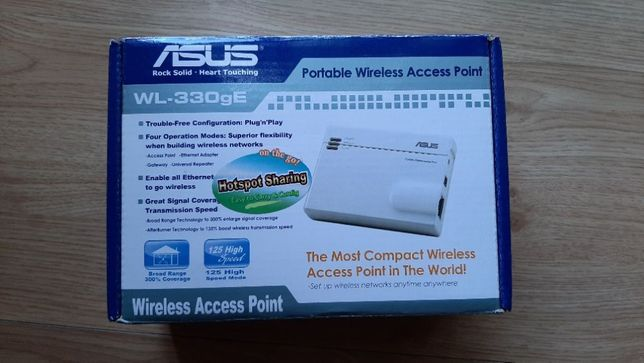Точка доступа ASUS WL-330gE