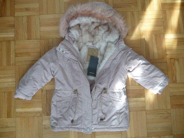 Zimowa kurtka RESERVED r. 98 NOWA