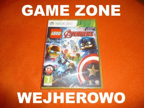 LEGO Marvel AVENGERS Xbox 360 + Slim + E = PŁYTA PL = Wejherowo