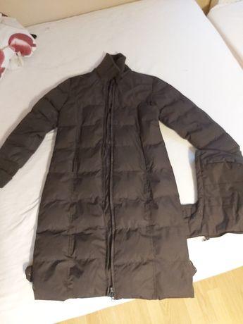 Płaszcz zimowy pikowany