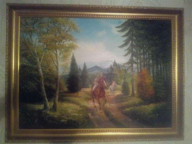 Продаю картину лес