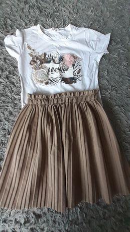 Sukienka  Spódnica  T-shirt   roz 158