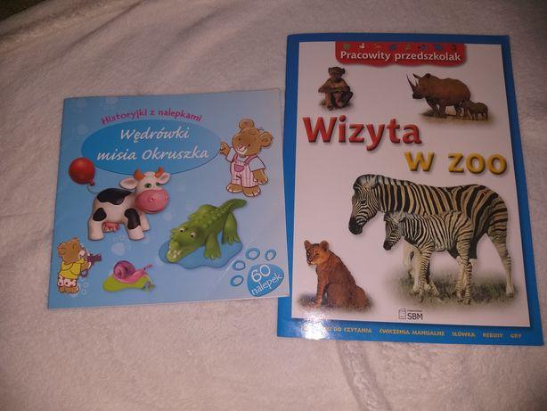 Dwie książeczki dla dzieci