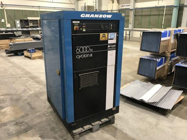 Sprężarka kompresor śrubowy GRANZOW 6000N moc 37 KW 5400 L/min