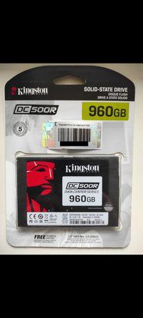 "Kingston DC500R 960GB 2.5"" SATAIII 3D TLC серверный ссд новый"
