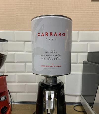 Кофе в зернах Carraro 3 кг Италия Карраро аналог Илли illy