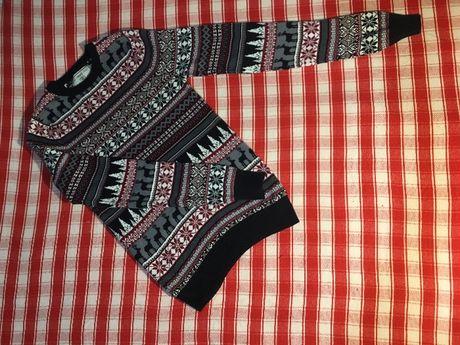Мужской свитер с оленями Next