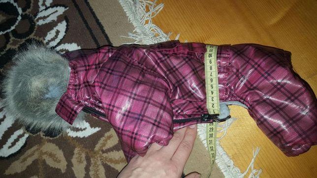 Куртка зимова для собак. Йорка