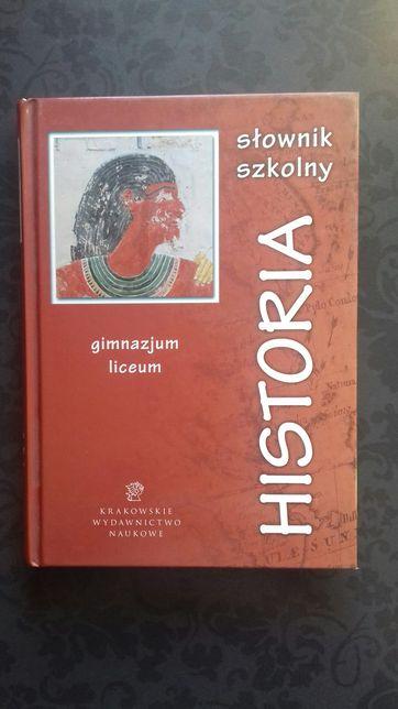 słownik szkolny historia
