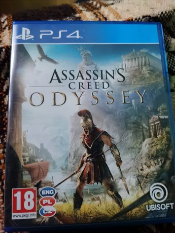 assassin creed odyssey ps4 stan idealny