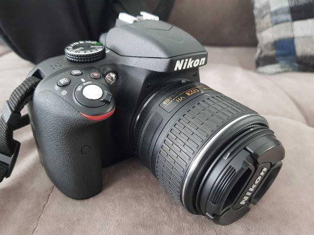 Nikon D3300 + AF-S DX 18-55mm + Mochila Case Logic