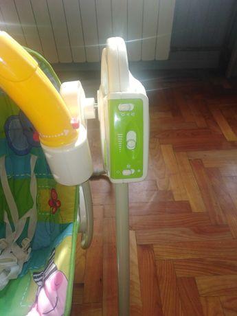 Huśtawka elektryczna dla dziecka