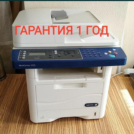 Xerox WC 3335. 3325 Wi-fi Лазерный принтер копир сканер МФУ. Гарантия!