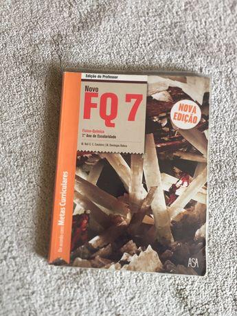 Novo FQ 7 manual do professor